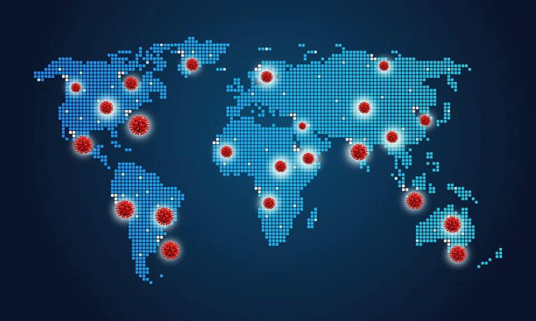 How can technology help track a virus??