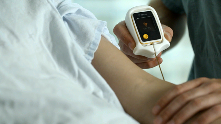New device to better diagnose deadly compartment syndrome.