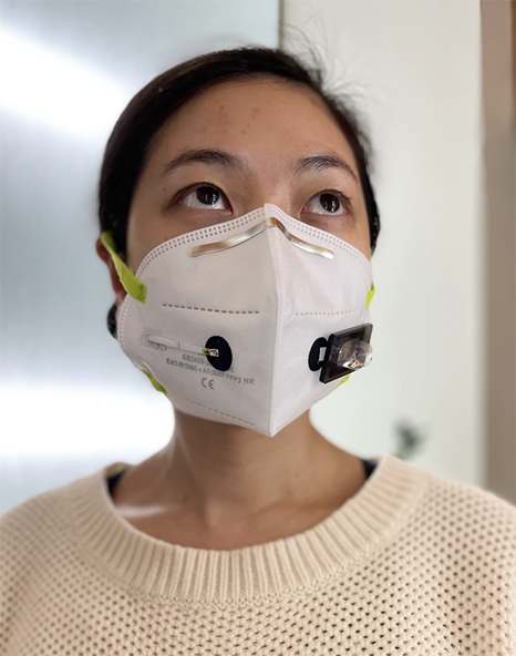 A facemask that detects COVID?